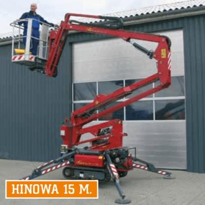 Bæltelift Hinowa 15M