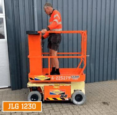 JLG 1230 søjlelift