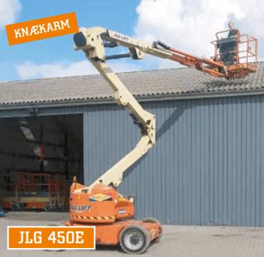 JLG 450E knækarmslift